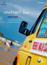 Contract Law Directions (Directions series),Richard Taylor, Da ,.9780199597208