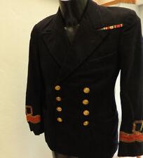 Military WW2 Royal Navy R.N.V.R Tunic Uniform Naval Lieutenant Commander (5151)