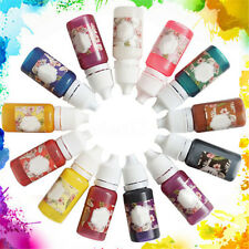 Epoxy Color UV Resin Coloring Dye Colorant Resin Pigment Art Crafts Mix NEW