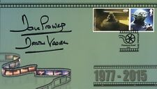 Darth Vader Dave Prowse signed Pinewood Star Wars FDC Yoda stamp