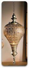 """orientalische Laterne  Hänge-Windlicht  """"Fata Morgana"""", silber  69 cm"""