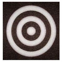 "12"" X 2"" Square Self Healing Foam Blowgun Dart BLK/WH Target by Predator"