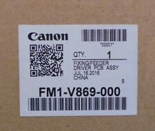 Genuine Canon FM1-V869 FIXING FEEDER PCB ASSY C7565 VAT INCL