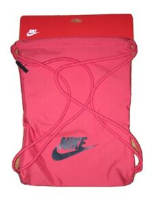 NEW Nike Heritage 2.0 Gym Sack With Tech Pocket And Drawstring Straps