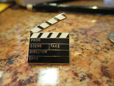 5 HOLLYWOOD MOVIE CLAPPER - TIE OR HAT PIN JEWELRY
