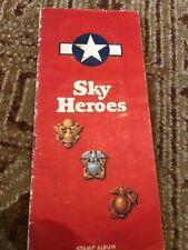 Sky Heroes Stamp Album