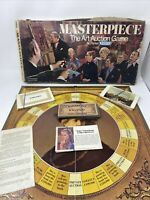 "VINTAGE MASTERPIECE BOARD GAME-""THE ART AUCTION GAME"" 1970 INCOMPLETE - See Desc"