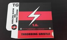 THROBBING GRISTLE rare BOX for 3 cd - MINT - MUTE 1991 Industrial records