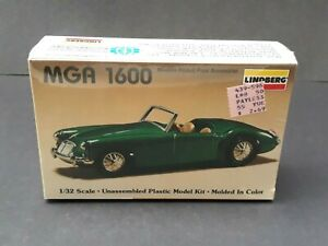 Lindberg Model Kit MGA 1600 #608 1:32 Scale 1987 Sealed