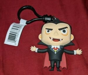 Universal City Studios Monsters Dracula Vampire Keychain figure Clip-On NEW RARE