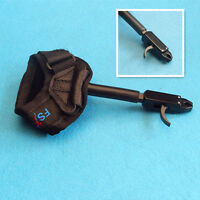 Compound Bow Wrist Strap Arrow Release Aid Buckle Hunting Archery Target Tool