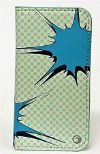 Marware KAPOW! Wallet case for iPhone SE/5s/5 Gray/Turquoise