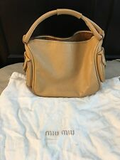 Miu Miu Leather Bag Purse