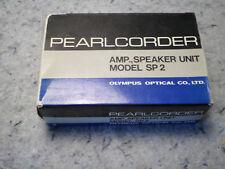 OLYMPUS PEARLCORDER AMP SPEAKER UNIT SP 2 VERY Rare (C14B5)