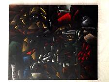 Kubismus Avantgarde Original Ölgemälde