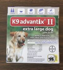 k9 advantix ll extra large dog over 55 lbs 2 - pack EPA approved product