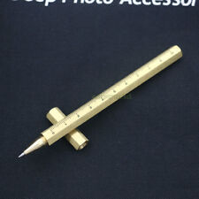 Handmade Six-Edge Solid Brass EDC Pocket Pen Signature Pen Personal Pen P-101R