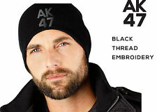 New AK47 Sport Winter Beanie Cap Men Hat Beanie Knitted Women Men Embroidery