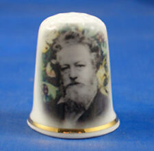 Birchcroft China Thimble -- William Morris --  Free Dome Gift Box