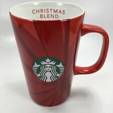 Starbucks Christmas Blend Coffee Mug 2014 Red 12oz 30th Anniversary Cup Tea