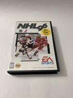 NHL 96 Complete CIB (Sega Genesis, 1995)