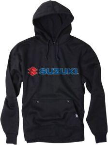Factory Effex Suzuki Logo Sweatshirt - Black / All Sizes
