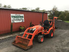 2017 Kubota BX23S 4x4 Hydro 23Hp Compact Tractor Loader Backhoe w/ 1000Hrs