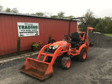 2017 Kubota Bx23s 4x4 Hydro 23hp Compact Tractor Loader Backhoe With 1000hrs