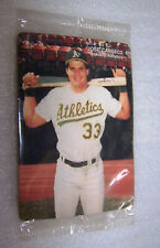 1990 Mothers Cookies JOSE CANSECO #2 of 4 Cards Oakland Athletics New in Package