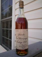 SALIGNAC Jahrgang 1929 Alt Selten Schöne Cognac Flasche !!!