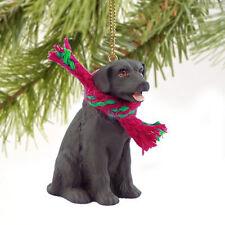 Labrador Retriever Lab Chocolate Tiny One Miniature Christmas Holiday ORNAMENT