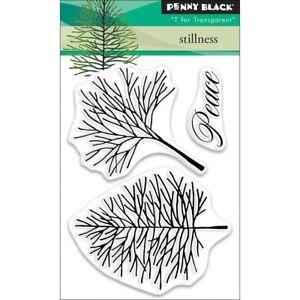 "Penny Black Clear Stamps 3"" x 4"" - Stillness"
