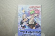 LIVRE ANGEL BEATS TRACK ZERO  JAPON VISUAL ART/KEY BOOK MANGA 2010 NEUF