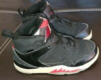 Air Jordan Sixty Plus Black White Varsity Red Size 8C 2009' 364806 061