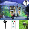 Outdoor Laser Lights Star Led Projector Projected Christmas Xmas Remote Control