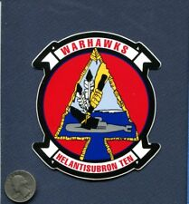 Decal HS-10 WARHAWKS US NAVY Helicopter Squadron Patch Image