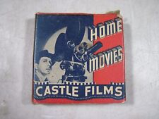 Vintage Antique Castle Films Home Movies Ice Carnival 16mm 1940's