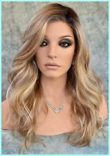 BLAZE Front Lace Part Estetica Wig RH1488RT8 Rooted Blond Long Beach Waves NEW 1