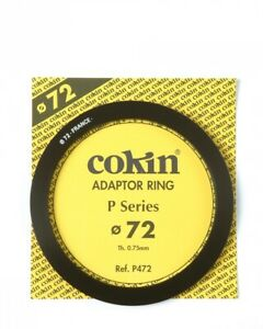 Genuine Cokin P472 adapter ring 72mm for P Serie filters