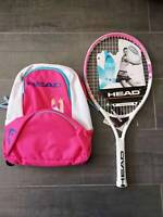 "HEAD 23"" Maria  Junior Tennis Racquet Racket Kids Childrens - Strung With Bags"