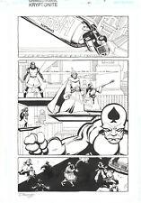 Superman Confidential #1 p.5 - Royal Flush Gang Splash - 2007 art by Tim Sale