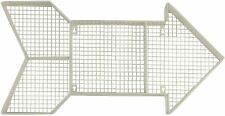 Target Pillowfort Large White Arrow Wire Mesh Display Storage Wall Shelf Decor
