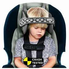 Napup Child Car Seat Head Support Attachment Sleep Comfortably on The Go - Grey
