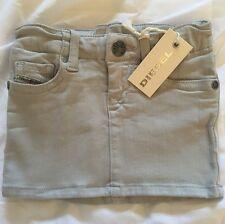 Diesel Grupeen B Skirt Infant Baby Girls Age-6m Grey BNWT Designer Jeans s m l