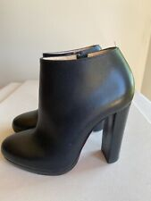 Christian Louboutin black leather ankle boots Size 36