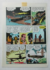 "1986 ""World of Wood"" 3 page 4 Original Eclipse comic book color guide art: Wally"