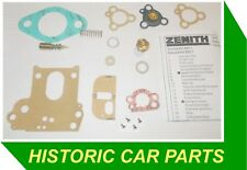 SERVICE KIT for ZENITH 34VN Carburettor for FORD CONSUL Mk2 1700cc 1958-62