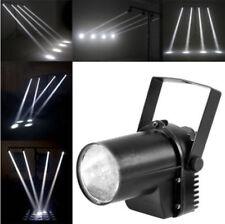 15W Stage Lighting Spin Pinspot Light White LED Beam Spotlight DJ DISCO Light