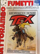 Tex Albo Speciale N.15 Gigante - Bonelli Ottimo