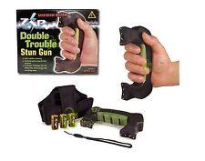 ZAP Stun Gun Double Trouble – 1.2 Million Volt Stun Gun DOUBLE CONTACT w/HOLSTER